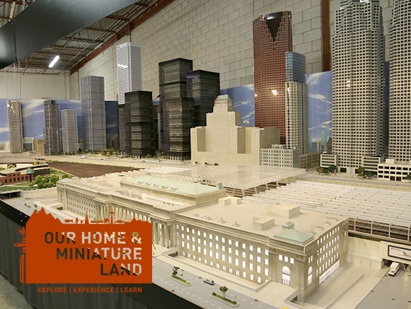 Our Home and Miniature Land – Free Doors Open