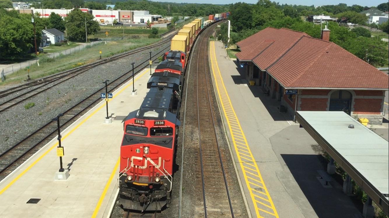 Railfanning Cobourg ON