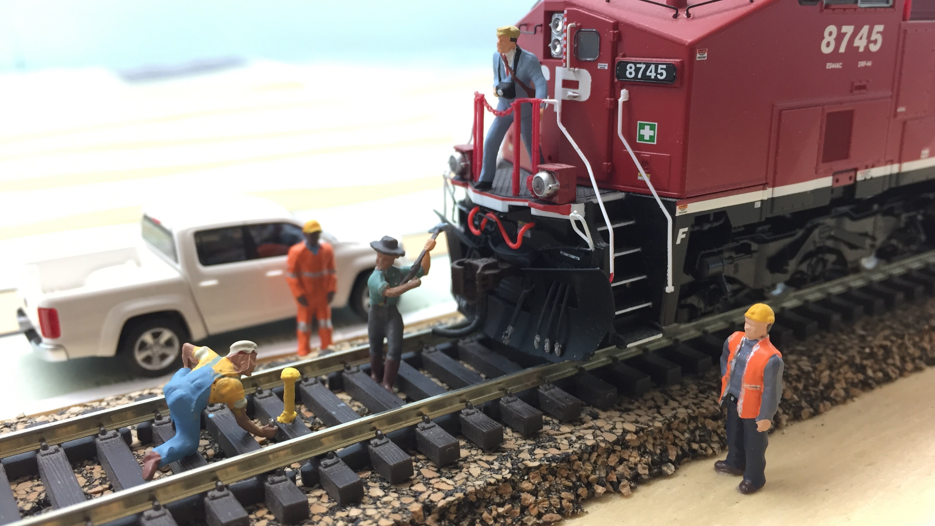 The Golden Spike Ceremony
